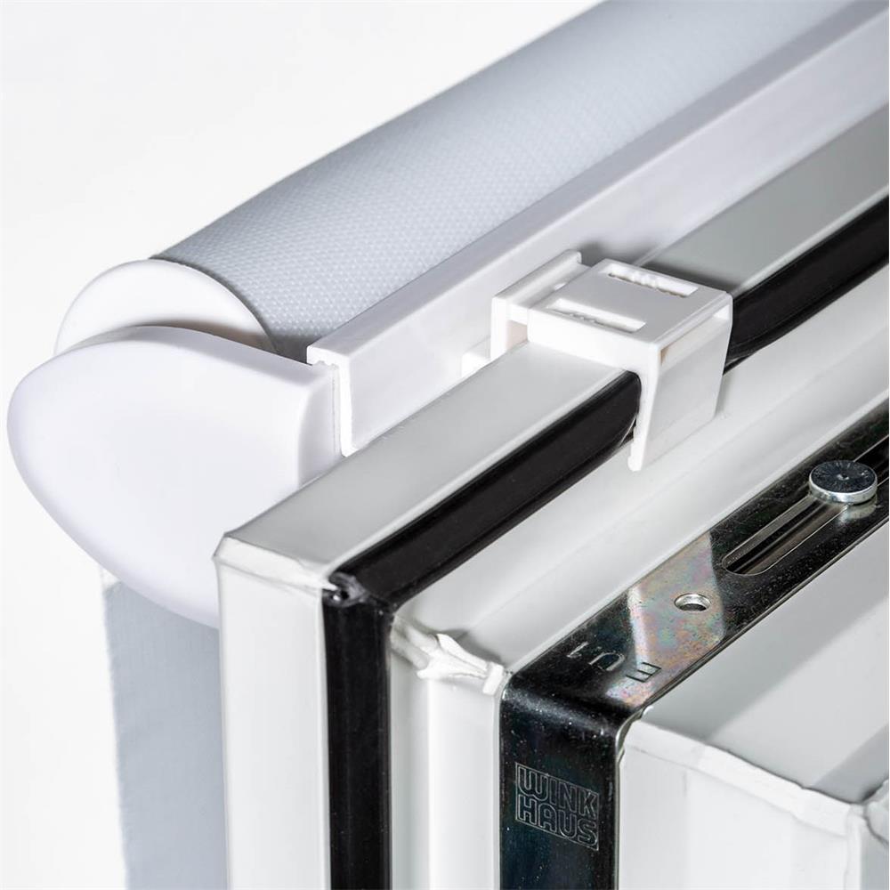 doppelrollo duo rollo klemmfix ohne bohren easyfix fenster klemmrollo blickdicht ebay. Black Bedroom Furniture Sets. Home Design Ideas