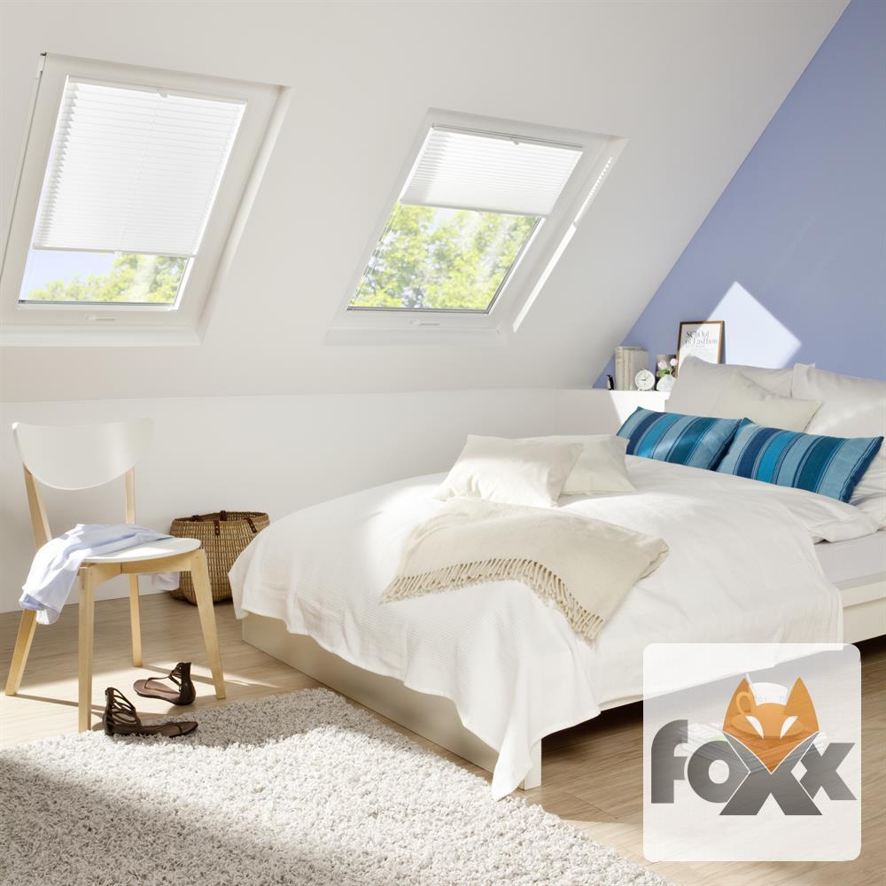 plissee verdunkelung dachfenster velux ggu gtu gpu ghu giu faltstore rollo ebay. Black Bedroom Furniture Sets. Home Design Ideas