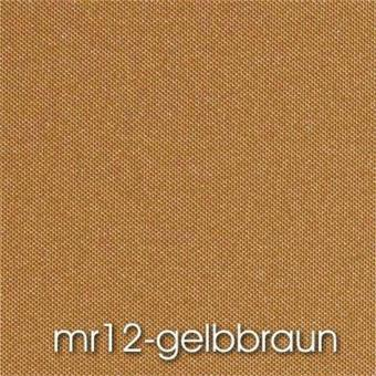 Seitenzugrollo SMART mr12 Blackout gelb-braun