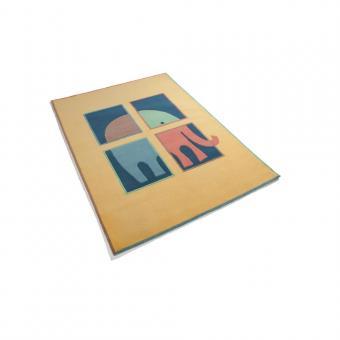 Design-Teppich ELEPHANT 170x240cm