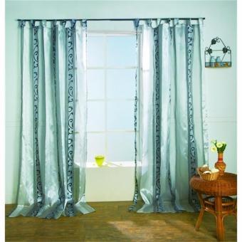 restseller24 schlaufenschal atlanta grau 140x245. Black Bedroom Furniture Sets. Home Design Ideas