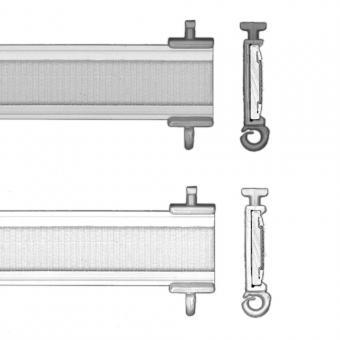 Paneelwagen nach Maß aluminium, acryl