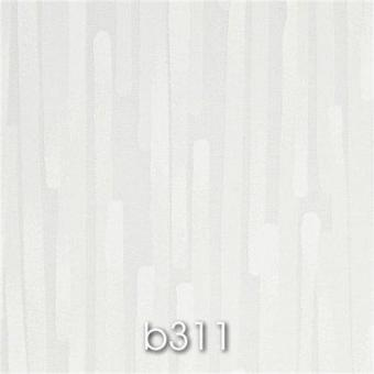 Flächenvorhang SMART b311Streifen weiss