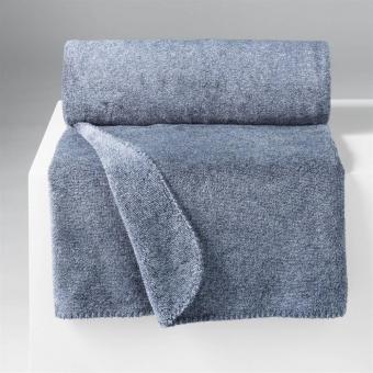 Decke melliert Schwedenblau