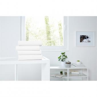 Jersey Spannbetttuch, 100x200 cm weiß