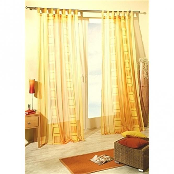 restseller24 schlaufenschal lissabon gelb 140x245. Black Bedroom Furniture Sets. Home Design Ideas
