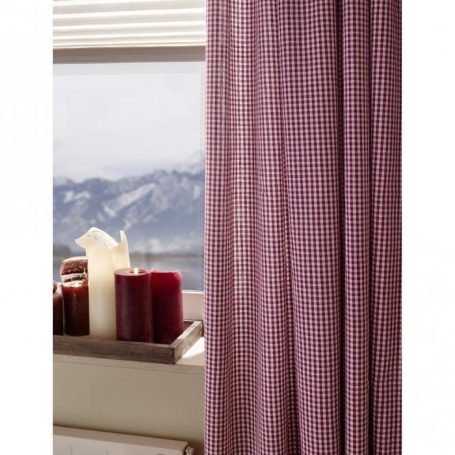 restseller24 schlaufenschal vichy karo rot landhaus. Black Bedroom Furniture Sets. Home Design Ideas