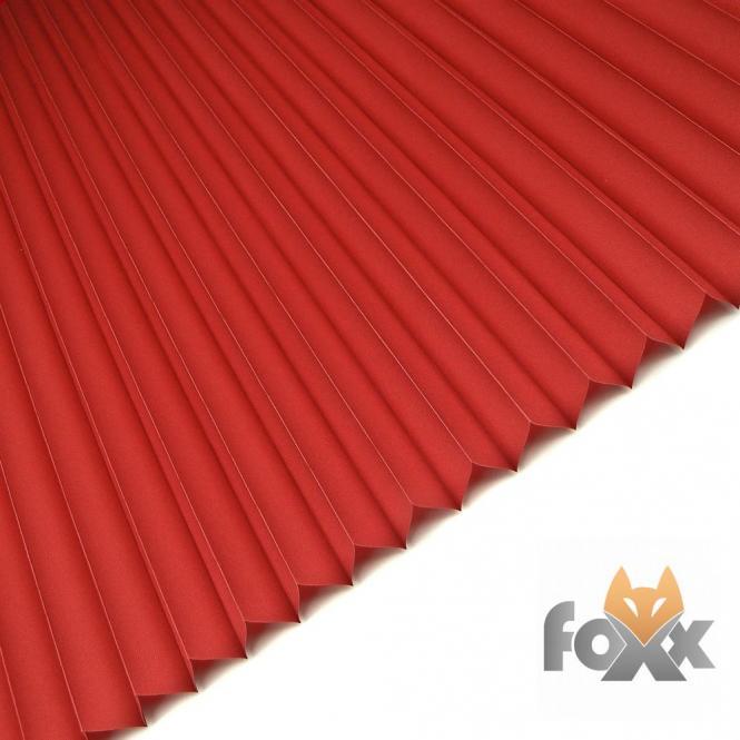 restseller24 plissee foxx uni 11 rot. Black Bedroom Furniture Sets. Home Design Ideas