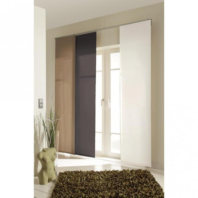 restseller24 fl chenvorhang smart eco7 bambus grau. Black Bedroom Furniture Sets. Home Design Ideas